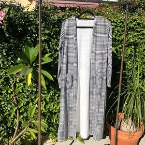 NEVER BEEN WORN! 🏁 Gingham Kimono Coat